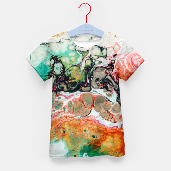 Thumbnail image of Painted Reality Kid's t-shirt, Live Heroes
