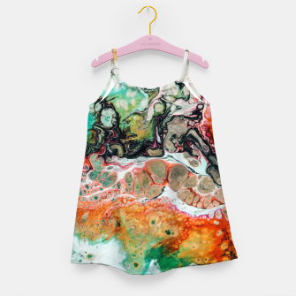 Thumbnail image of Painted Reality Girl's dress, Live Heroes