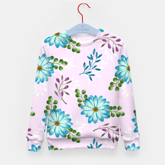 Thumbnail image of Tropical Leaves Jungle Kid's sweater, Live Heroes
