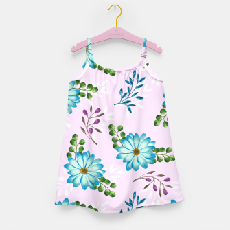 Thumbnail image of Tropical Leaves Jungle Girl's dress, Live Heroes