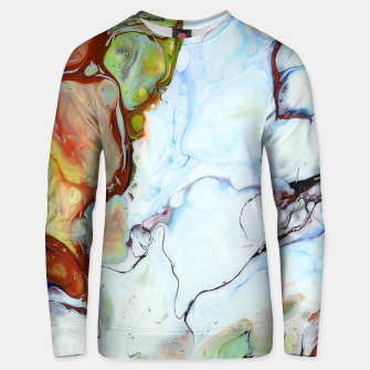 Crushed Abstract Unisex sweater obraz miniatury