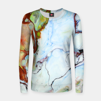 Crushed Abstract Women sweater obraz miniatury