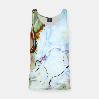 Crushed Abstract Tank Top obraz miniatury