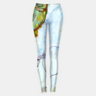 Crushed Abstract Leggings obraz miniatury