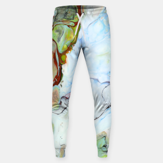 Crushed Abstract Sweatpants obraz miniatury