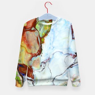 Crushed Abstract Kid's sweater obraz miniatury