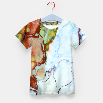 Crushed Abstract Kid's t-shirt obraz miniatury