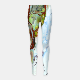 Crushed Abstract Girl's leggings obraz miniatury