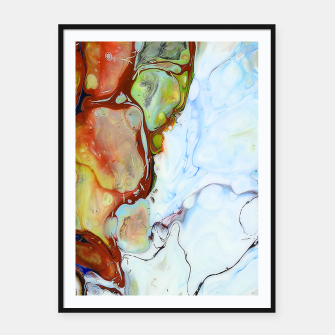 Crushed Abstract Framed poster obraz miniatury