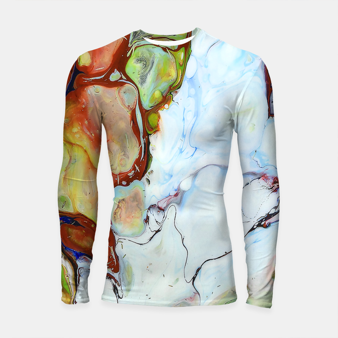 Zdjęcie Crushed Abstract Longsleeve rashguard  - Live Heroes