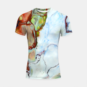 Crushed Abstract Shortsleeve rashguard obraz miniatury