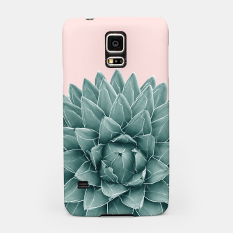 Thumbnail image of Blush Green Agave Chic #1 #succulent #decor #art  Handyhülle für Samsung, Live Heroes
