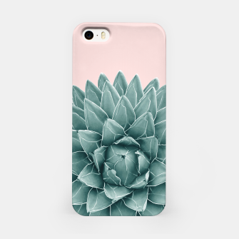Thumbnail image of Blush Green Agave Chic #1 #succulent #decor #art  iPhone-Hülle, Live Heroes