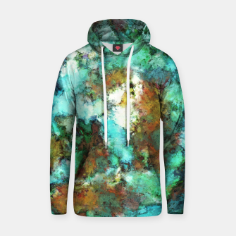 Thumbnail image of Turquoise terrain Hoodie, Live Heroes