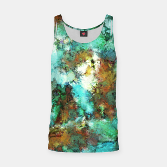 Thumbnail image of Turquoise terrain Tank Top, Live Heroes