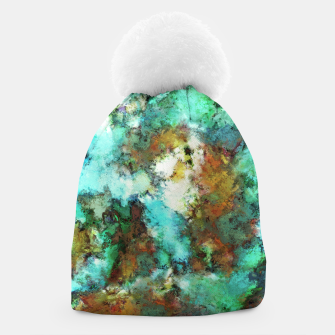 Thumbnail image of Turquoise terrain Beanie, Live Heroes
