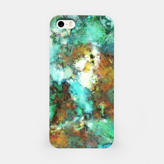 Thumbnail image of Turquoise terrain iPhone Case, Live Heroes