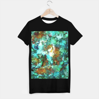 Thumbnail image of Turquoise terrain T-shirt regular, Live Heroes