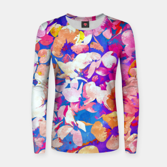 Thumbnail image of Floral Abundance Women sweater, Live Heroes