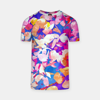 Thumbnail image of Floral Abundance T-shirt, Live Heroes