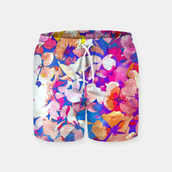 Thumbnail image of Floral Abundance Swim Shorts, Live Heroes