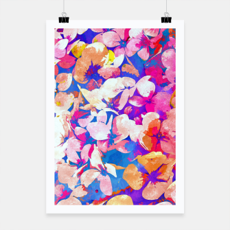 Thumbnail image of Floral Abundance Poster, Live Heroes