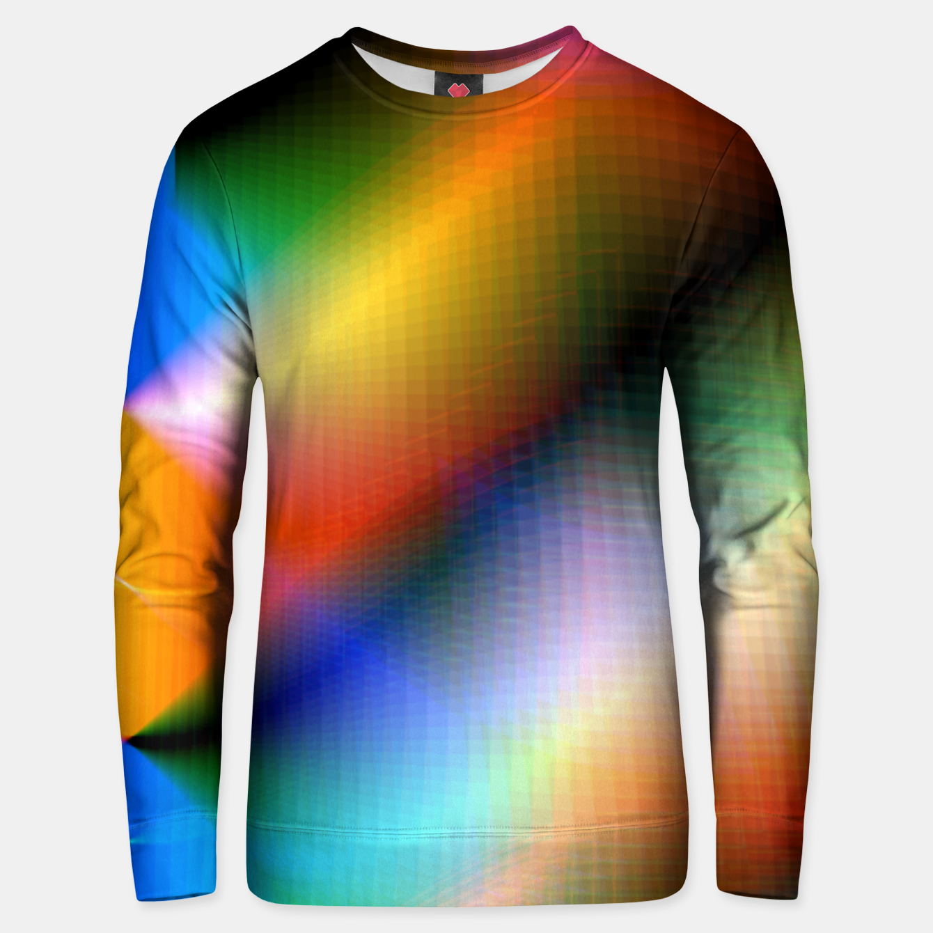 Image of Xreme Glitch Unisex sweater - Live Heroes