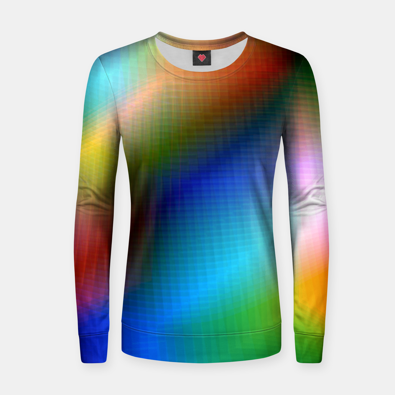 Image of Xreme Glitch Women sweater - Live Heroes