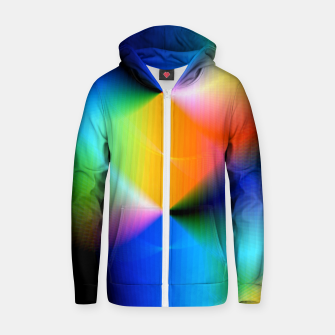 Thumbnail image of Xreme Glitch Zip up hoodie, Live Heroes