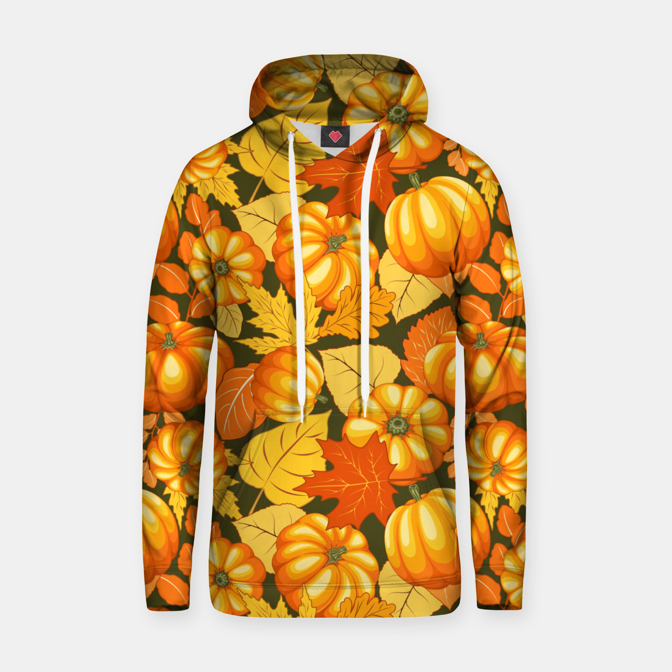 Image of Pumpkins and Autumn Leaves Party Hoodie - Live Heroes