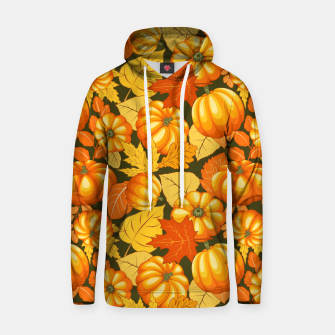 Pumpkins and Autumn Leaves Party Hoodie thumbnail image