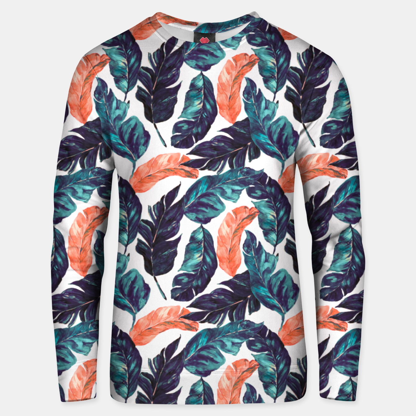 Image of Leaf blue and pink Sudadera unisex - Live Heroes