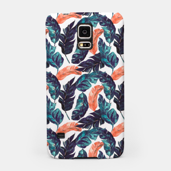 Thumbnail image of Leaf blue and pink Carcasa por Samsung, Live Heroes