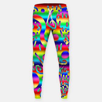 Thumbnail image of Rainbow Confetti Sweatpants, Live Heroes