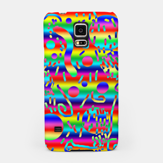 Thumbnail image of Rainbow Confetti Samsung Case, Live Heroes