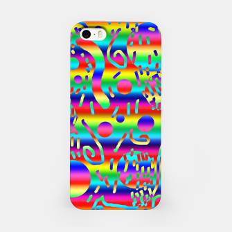 Thumbnail image of Rainbow Confetti iPhone Case, Live Heroes