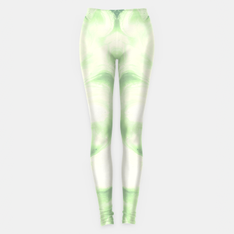 Miniaturka abstract psychedelic paint flow ghost face nfdi Leggings, Live Heroes