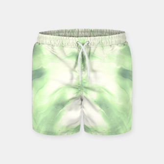 Miniaturka abstract psychedelic paint flow ghost face nfdi Swim Shorts, Live Heroes