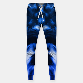 Miniaturka abstract psychedelic paint flow ghost face c14 Sweatpants, Live Heroes