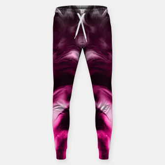 Miniaturka abstract psychedelic paint flow ghost face c7 Sweatpants, Live Heroes
