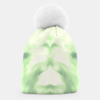 Miniaturka abstract psychedelic paint flow ghost face nfdi Beanie, Live Heroes