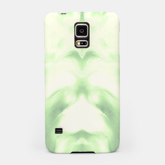 Miniaturka abstract psychedelic paint flow ghost face nfdi Samsung Case, Live Heroes