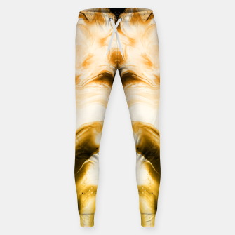 Miniaturka abstract psychedelic paint flow ghost face c14i Sweatpants, Live Heroes