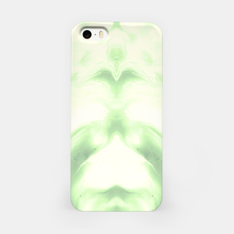 Miniaturka abstract psychedelic paint flow ghost face nfdi iPhone Case, Live Heroes