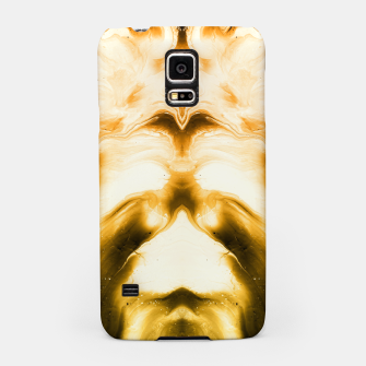Miniaturka abstract psychedelic paint flow ghost face c14i Samsung Case, Live Heroes