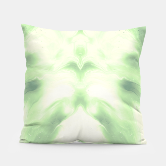 Miniaturka abstract psychedelic paint flow ghost face nfdi Pillow, Live Heroes