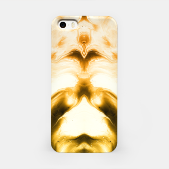 Miniaturka abstract psychedelic paint flow ghost face c14i iPhone Case, Live Heroes
