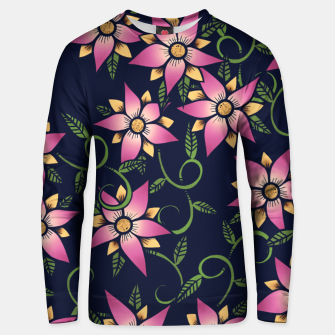 Thumbnail image of Vine Floral Unisex sweater, Live Heroes