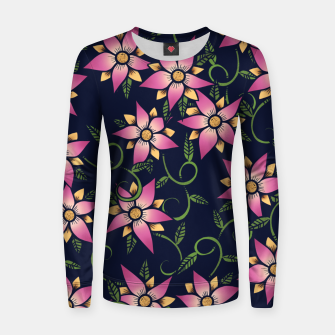 Thumbnail image of Vine Floral Women sweater, Live Heroes