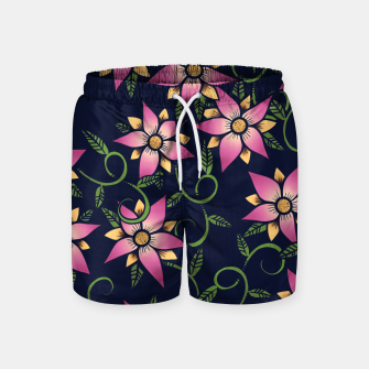 Thumbnail image of Vine Floral Swim Shorts, Live Heroes